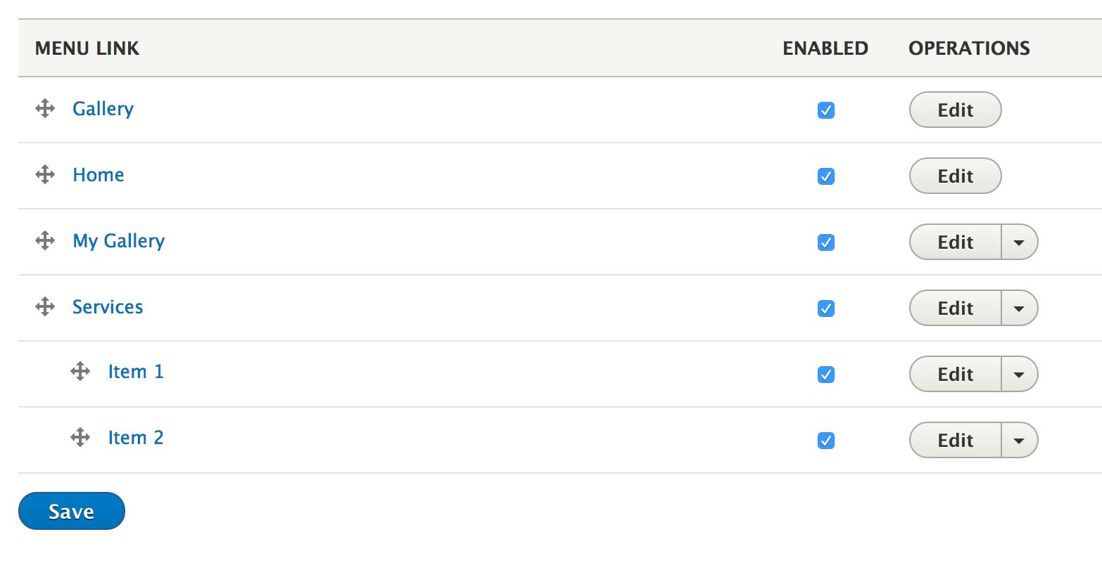 drupal menu templates