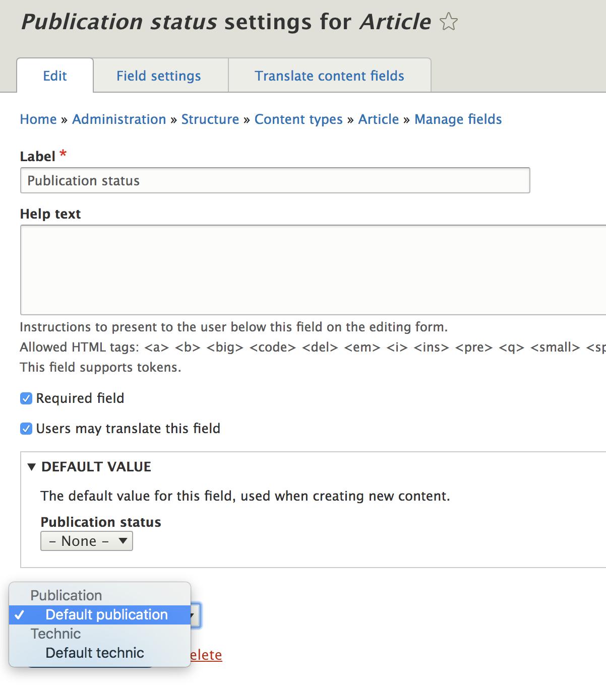 Set up workflows with State machine on Drupal 8   Flocon de