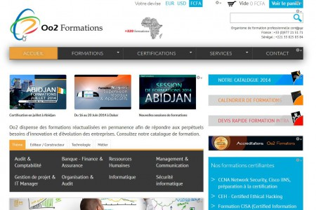 Oo2 Formations et solutions