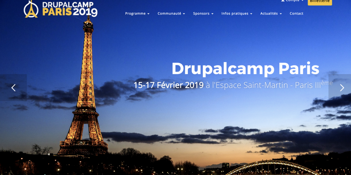 DrupalCamp Paris 2019